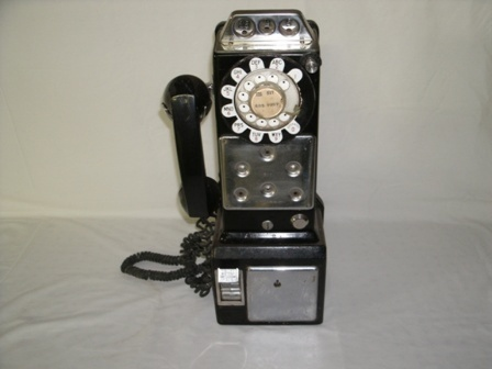 Northern Electric Three Coin Slot Pay Telephone