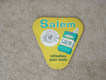 Salem Cigarette Thermometer
