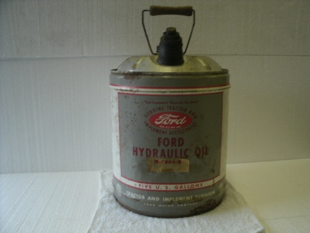 Vintage Ford Oil Can