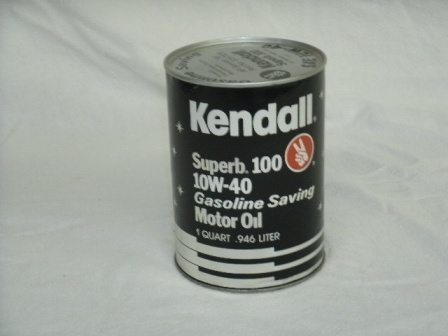 Vintage Kendall Oil Can