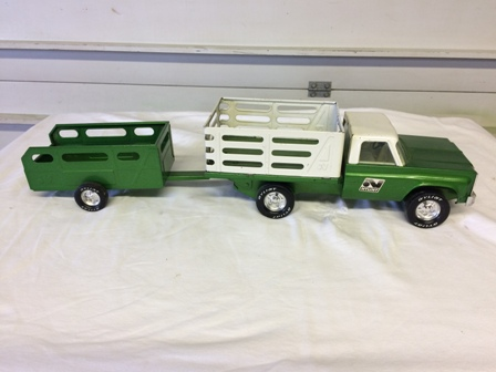 Vintage Nylint Farm Truck with Trailer