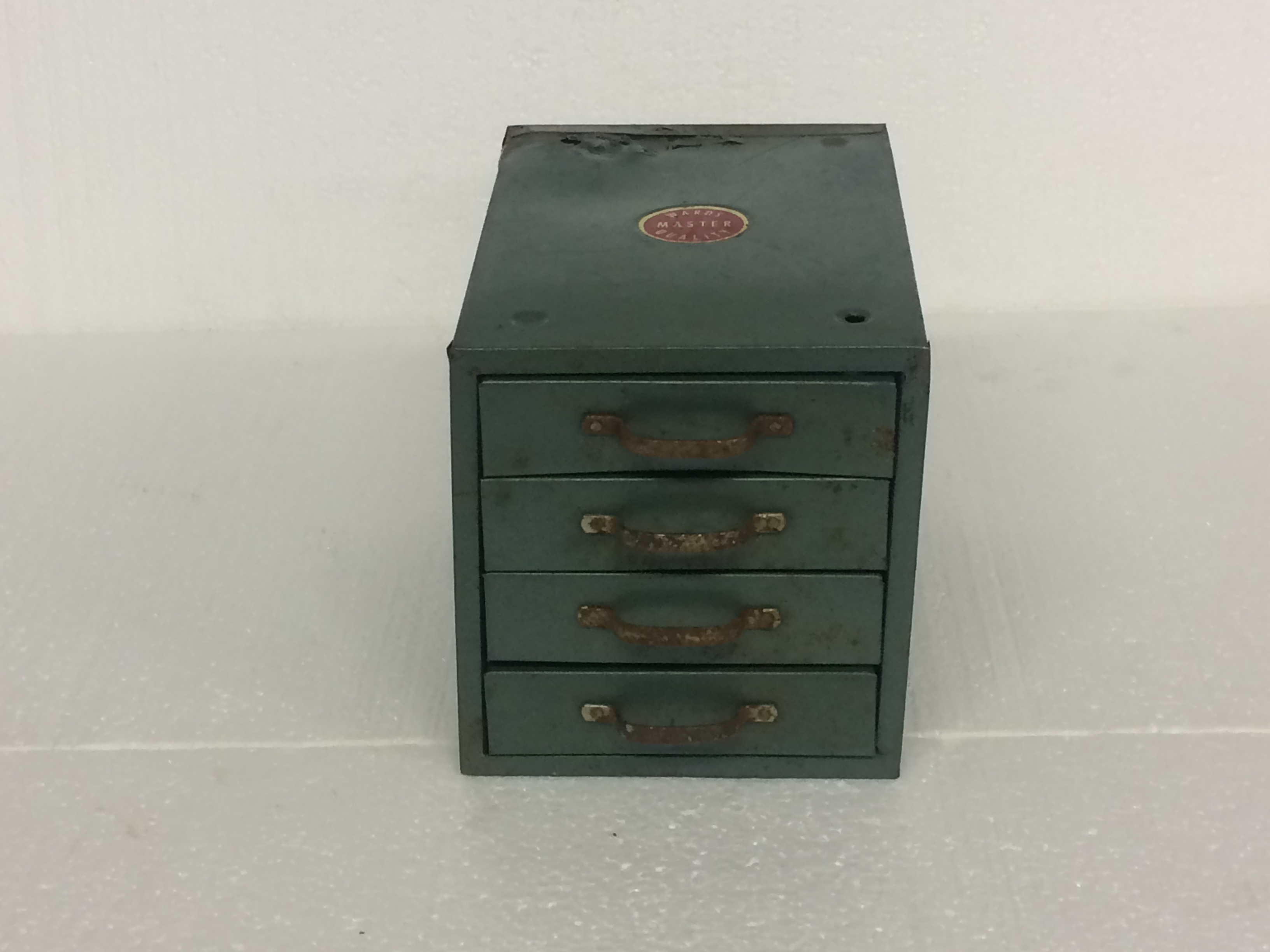 Antique Ward Metal Box #1